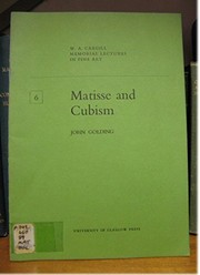 Cover of: Matisse and Cubism