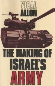 Cover of: The making of Israel