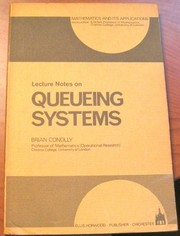 Cover of: Lecture Notes on Queueing Systems (Mathematics & Its Applications) (Mathematics and Its Applications)