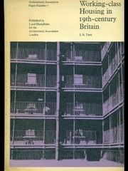 Cover of: Working-class housing in 19th century Britain | J. N. Tarn