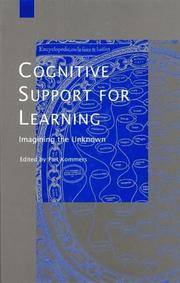 Cover of: Cognitive Support for Learning | Piet A. M. Kommers