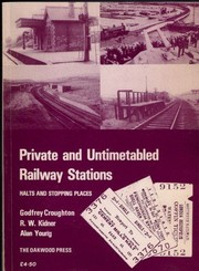 Private and untimetabled railway stations