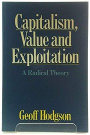 Cover of: Capitalism, value, and exploitation