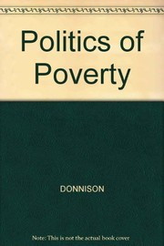 Cover of: The politics of poverty | David Vernon Donnison