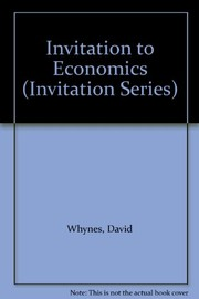 Cover of: Invitation to economics