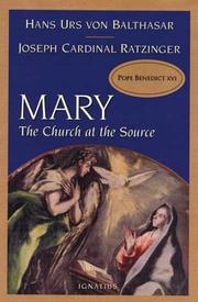 Cover of: Mary by Hans Urs von Balthasar