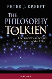 Cover of: The Philosophy of Tolkien