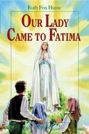Cover of: Our Lady came to Fatima