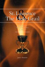 Cover of: St. Laurence And The Holy Grail | Janice Bennett