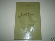 Cover of: Patterns of folklore
