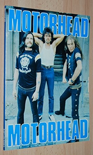 Motorhead  - 1981 Original Edition - the band's real feelings about their early music careers , in their own words - includes listings  gigs , TV appearance & recordings -  illustrated with photographs by Larry Wallis Motorhead / Lemmy