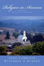 Cover of: Religion in America, Seventh Edition | John Corrigan