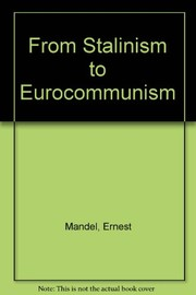 Cover of: Critique de L'eurocommunisme