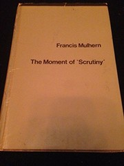 Cover of: Moment of Scrutiny