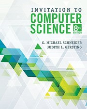 Invitation to Computer Science by G. Michael Schneider, Judith L. Gersting
