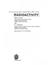 Cover of: Radioactivity