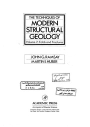 Cover of: Techniques of Modern Structural Geology, Volume 2 | John G. Ramsay