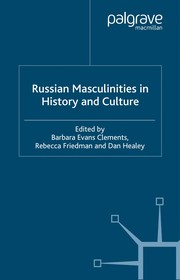 Cover of: Russian masculinities in history and culture |