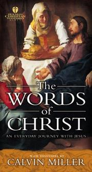 Cover of: The Words of Christ