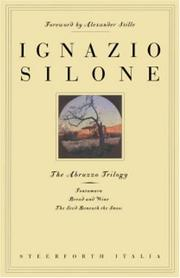 Cover of: The Abruzzo trilogy