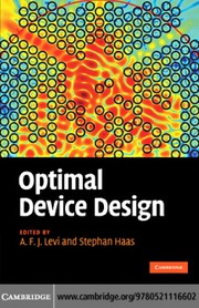 Cover of: Optimal device design |