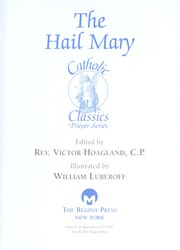 The Hail Mary (Catholic Classics (Regina Press))