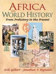 Cover of: Africa in world history