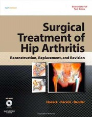 Cover of: Surgical treatment of hip arthritis |
