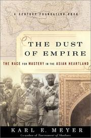 Cover of: The Dust of Empire | Karl Ernest Meyer