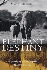 Cover of: Elephant Destiny