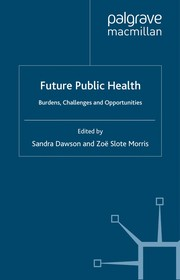 Cover of: Future public health |