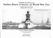 Cover of: Warship Pictorial No. 23 - Italian Heavy Cruisers of World War II |