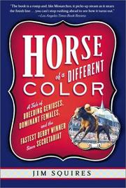 Cover of: Horse of a Different Color