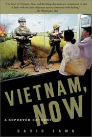 Cover of: Vietnam, Now | David Lamb