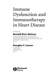Cover of: Immune dysfunction and immunotherapy in heart disease