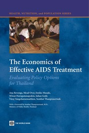 Cover of: The economics of effective AIDS treatment