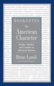 Cover of: Booknotes on American Character | Brian Lamb