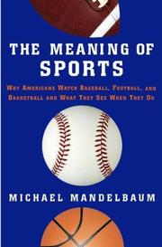 Cover of: The Meaning of Sports