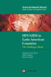 Cover of: HIV/AIDS in Latin America countries |