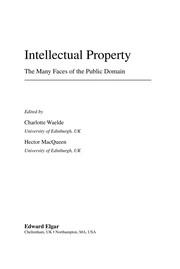 Cover of: Intellectual property |