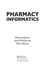 Cover of: Pharmacy informatics |