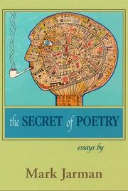 Cover of: The secret of poetry: essays