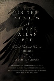 Cover of: In the Shadow of Edgar Allan Poe: Classic Tales of Horror, 1816-1914