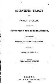 Cover of: Scientific tracts and family lyceum