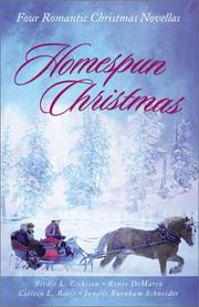 Cover of: Homespun Christmas: Hope for the Holidays/More Than Tinsel/The Last Christmas/Winter Sabbatical (Inspirational Christmas Romance Collection)