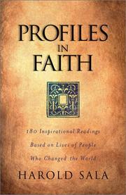 Cover of: Profiles in Faith
