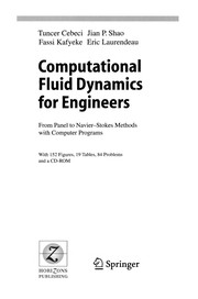 Cover of: Computational fluid dynamics for engineers |