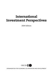Cover of: International investment perspectives |