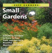 Cover of: Small Gardens