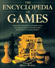 Cover of: The Encyclopedia of Games | Brian Burns